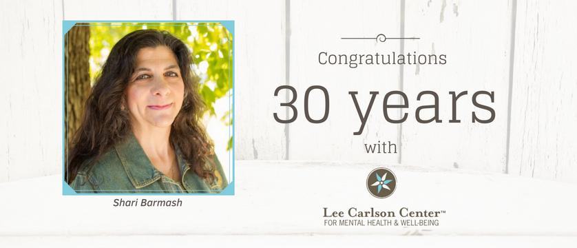 Shari Barmash Celebrates 30 Years with Lee Carlson Center