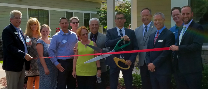 Celebrating Partnerships & Lee Carlson Center's Coon Rapids Location