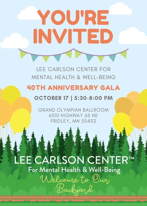 You're Invited to our 40th Gala - Welcome to our Backyard!