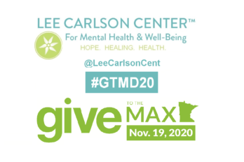 Lee Carlson Center is participating in Give to the Max Nov 19, 2020