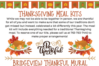 The Thanksgiving Edition of the Bridgeview Newsletter has Arrived!